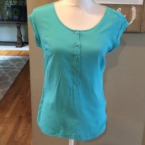 The Limited Turquoise Top